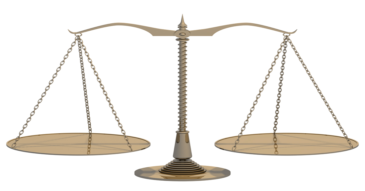 balanza de platillos
